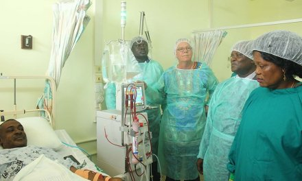Volta Regional Hospital gets dialysis machines for treatment of renal ailments