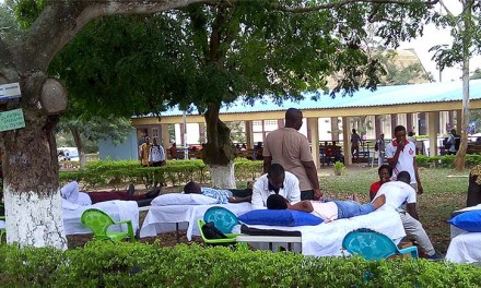 UCC SRC holds blood donation event
