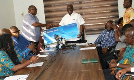 Stanbic Bank assists Korle-Bu to pay off food suppliers debt