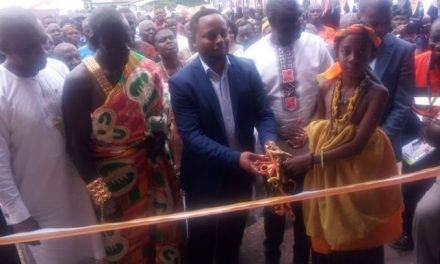 AngloGold builds multipurpose community centre for Bankyim