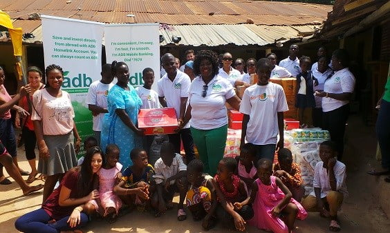 ADB gives to Potters village in Dodowa