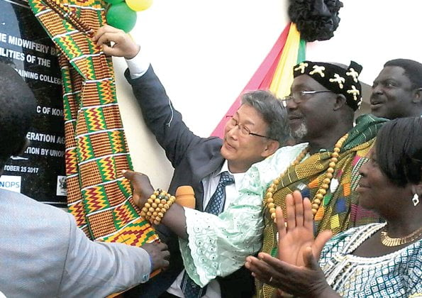 KOICA constructs building for Keta Midwifery School