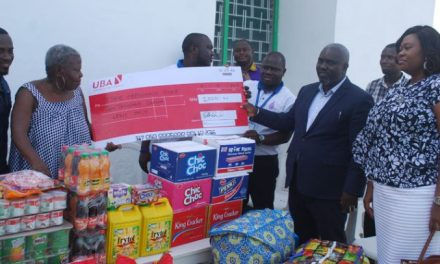 Marketing Support Consultancy gives to Teshie Orphanage