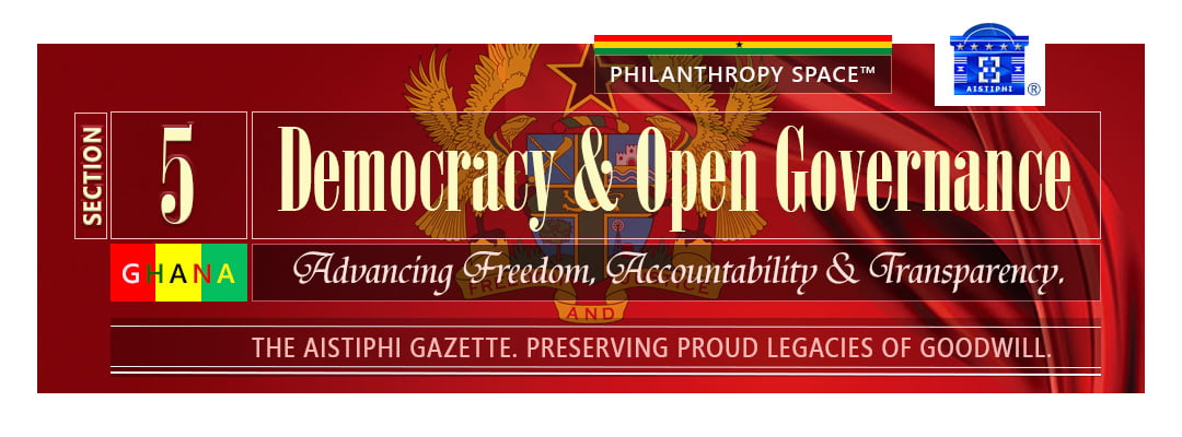 Banner section 5 democracy