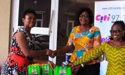Saps School donates to Citi FM Easter Orphan Project