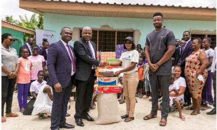 Wapic Insurance gives to Dream Africa Care Foundation
