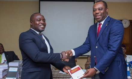 Heritage Bank supports Free SHS with Math Books