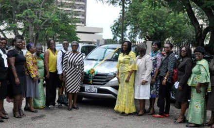 Wesley Girls Old Girls give past headmistress new vehicle