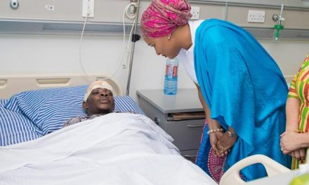 Samira Bawumia donates equipment to Ridge Hospital