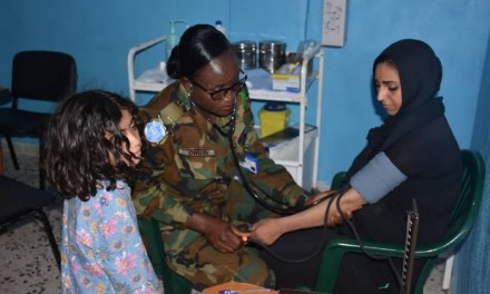 Ghanaian Battalion holds free medical care in Ramia