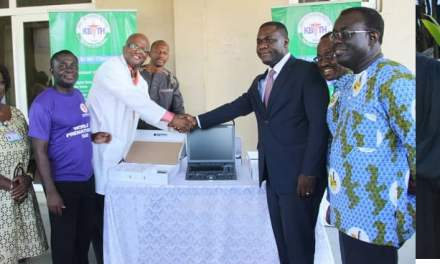 Chamber Of Mines gives ultrasound equipment to KBTH