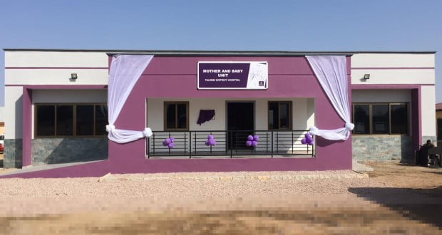 First Atlantic builds Mother- Baby Unit for Talensi Hospital