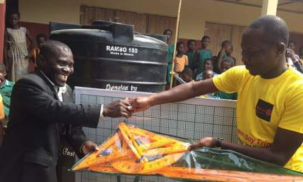 Rotaract Accra-Labone reaches out to basic schools in Peki
