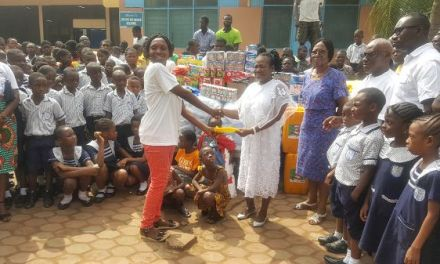 Mercy Schools gives Echoing Village food and supplies