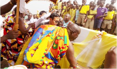 Chinese Embassy funds $200k Akyem Awisa School projects