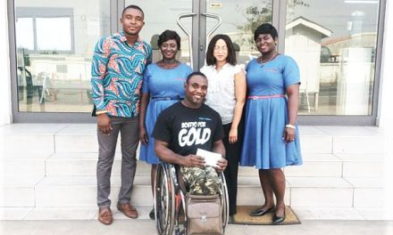 Wire Weaving supports Botsyo Nkegbe for All Africa Games
