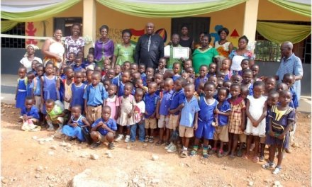 Kwaebibirem Rural Bank builds classrooms for Asuom