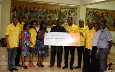 MTN gives GH¢100k to support Asantehene's anniversary