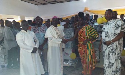 Nick Holdings gives incubators to St. Theresa's Hospital