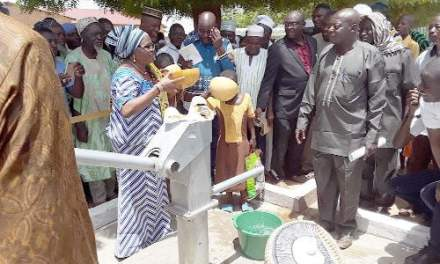 GNPC provides borehole water for Upper East communities