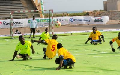 MTN supports Skate Soccer for differently-abled persons