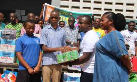 Fathers' Chapel gives to Akropong School for the Blind