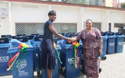 One Ghana supports NCCE schools campaign
