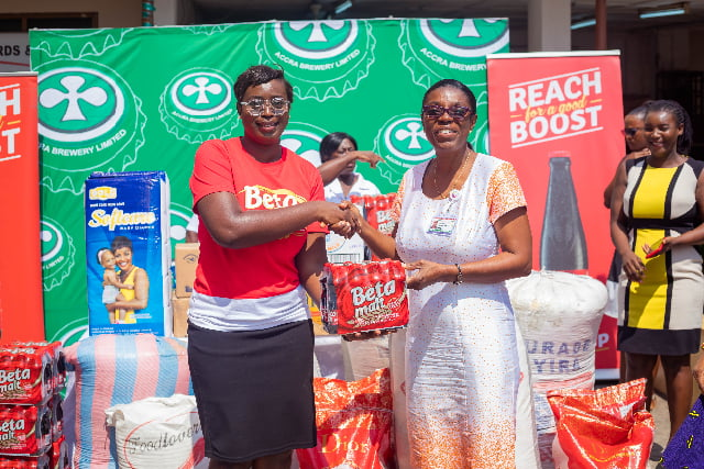 ABL gives food, other supplies to Children's Hospital