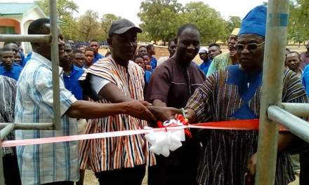 Ullo SHS gets mechanised potable water system