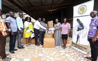 GWAG gives medical supplies to Cape Coast Hospital
