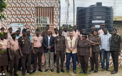 DirectAid Ghana builds water facility for James Camp Prison