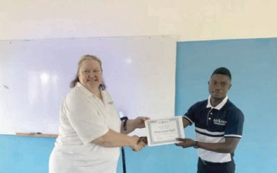 Self Help International trains youth in value agribusiness