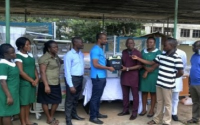 Give Hope Global gives to Atibie Government Hospital