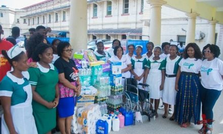 Women in Worship donates to KBTH Cervical Cancer Unit