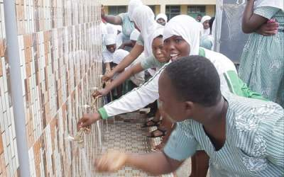 DirectAid Ghana builds water facility for Islamic Girls SHS