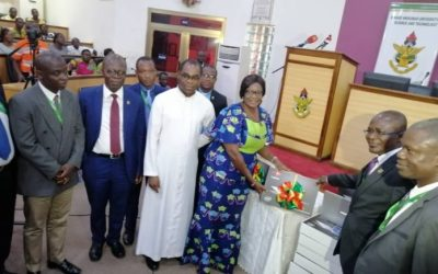 KNUST donates 560 laptops to less-resourced schools
