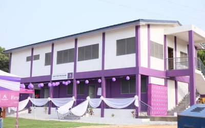 First Atlantic Bank builds new facility for School for the Deaf