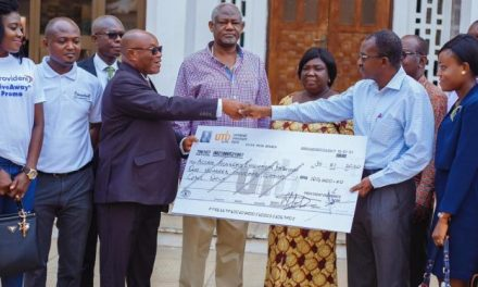 Provident Insurance gives Accra Academy GHS100k