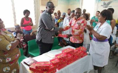 Ghana Tourism Authority gives chocolate to Effia Nkwanta