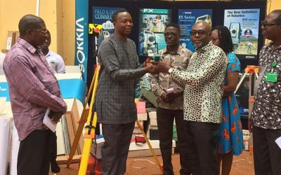 Geo-Tech gives Survey School GHS100k equipment