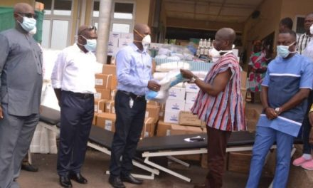 Kwahu Forum donates critical supplies to Hospitals
