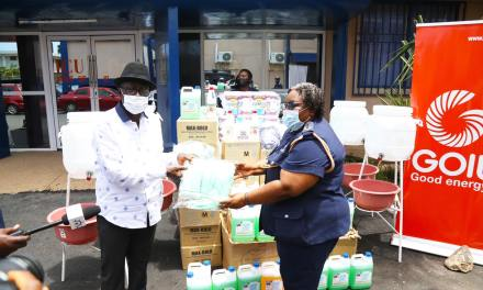GOIL gives GHS50k supplies to Police Hospital