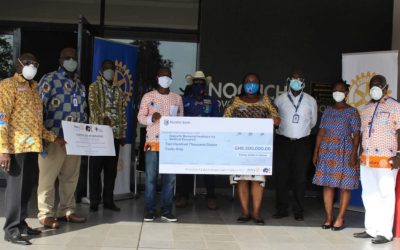 Rotarians in Ghana procure PCR kits for Noguchi