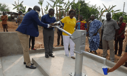 Africa Heartwood builds water facilities in Ghana