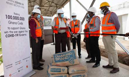 Diamond Cement supports Isolation Center Project