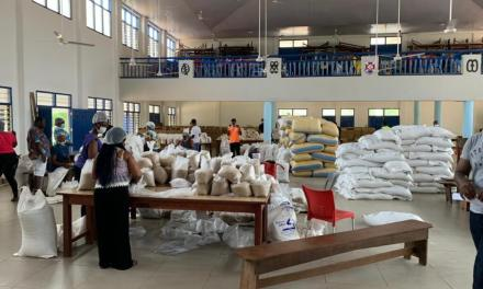 IMPC leads food relief drive for families in lockdown
