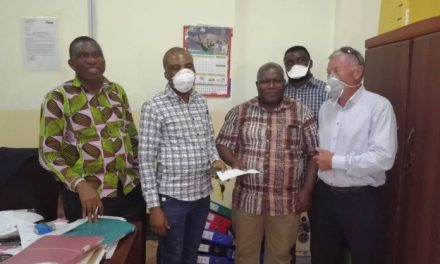 Justmoh Construction gives four hospitals GHS50k