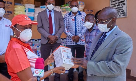 Vodafone Ghana Foundation donates PPE to GMA
