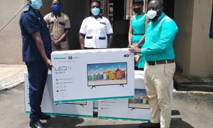 Hisense Electronics assists Ghana Police Hospital