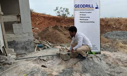 Geodrill constructs borehole for Pearl Safe Haven